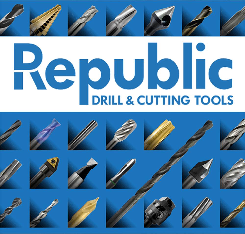 "7//8/"" x 12/"" OAL 1//2/"" New Republic Drill Extra Length Straight Shank Drill Bit"